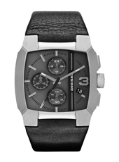 DZ4275 Bad Company Chrono Black Leather