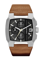 DZ4276 Bad Company Chrono Brown Leather