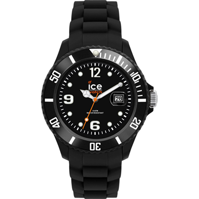 Ice-Watch Dameshorloge SI.BK.S.S.09 Sili Forever Black Small