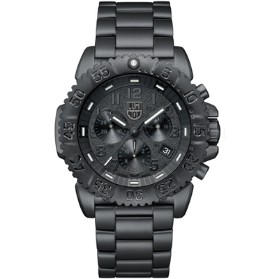 Luminox Herenhorloge Navy Seal Chrono Black A.3182.BO