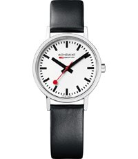 A658.30323.16SBB Classic White Matte Leather 30mm