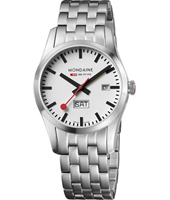 A667.30340.16SBM Retro Day Date Steel 40mm