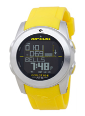 A1083-10 Pipeline World Tide & Time Yellow