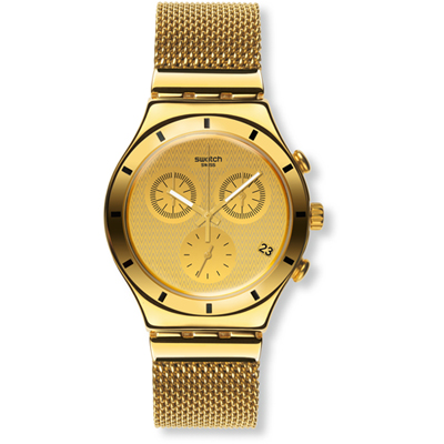 Swatch Dameshorloge Irony Chrono Golden Cover S YCG410GB