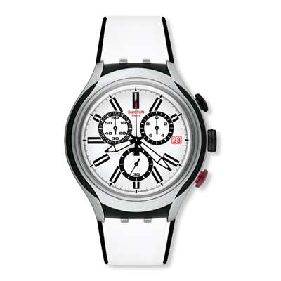 Swatch Herenhorloge Black Wheel YYS4005