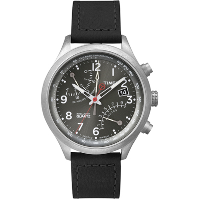 Timex Intelligent Quartz Fly-Back Chrono horloge T2P509
