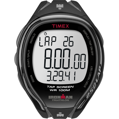 Timex Ironman Sleek 250-Lap Zwart
