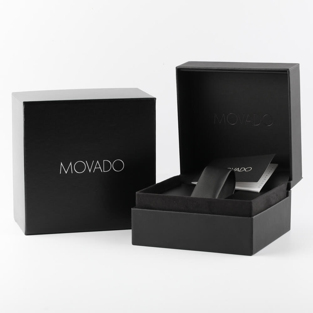 Dameshorloge met stip Herfst / Winter Collectie Movado