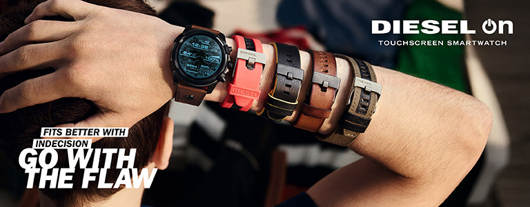 Diesel On Smartwatch horloges