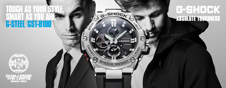 <h1>G Shock G Steel horloges</h1>