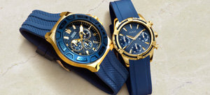 Guess Gold & Blue Collection