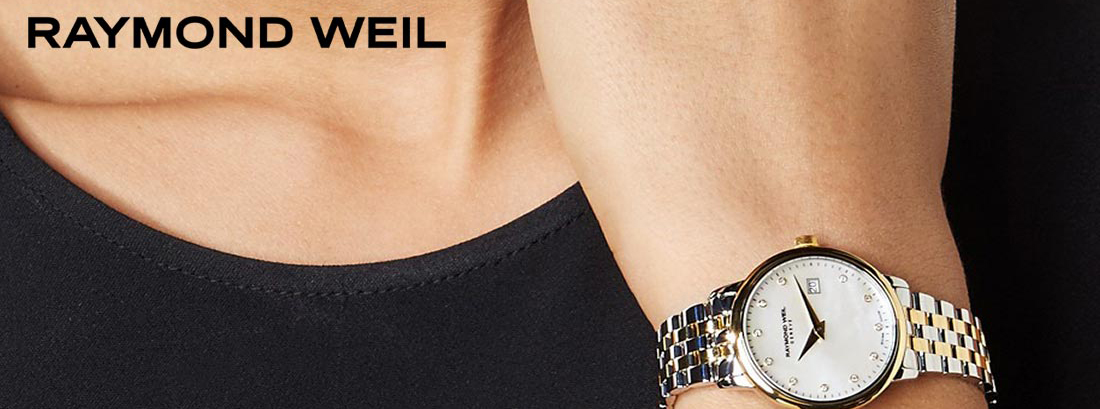 Banner Raymon Weil watches
