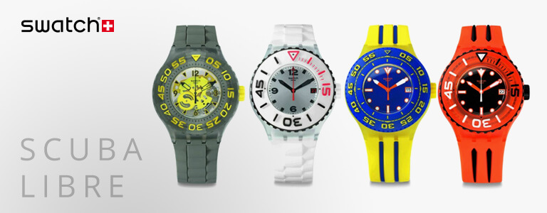 <h1>Swatch Scuba Libre horloges</h1>