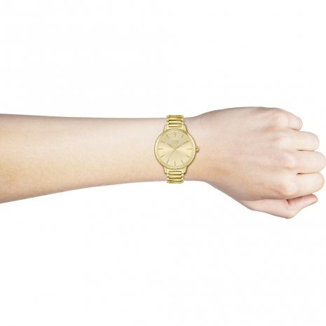 Goud Dames Quartzhorloge Lente/Zomer collectie Hugo Boss
