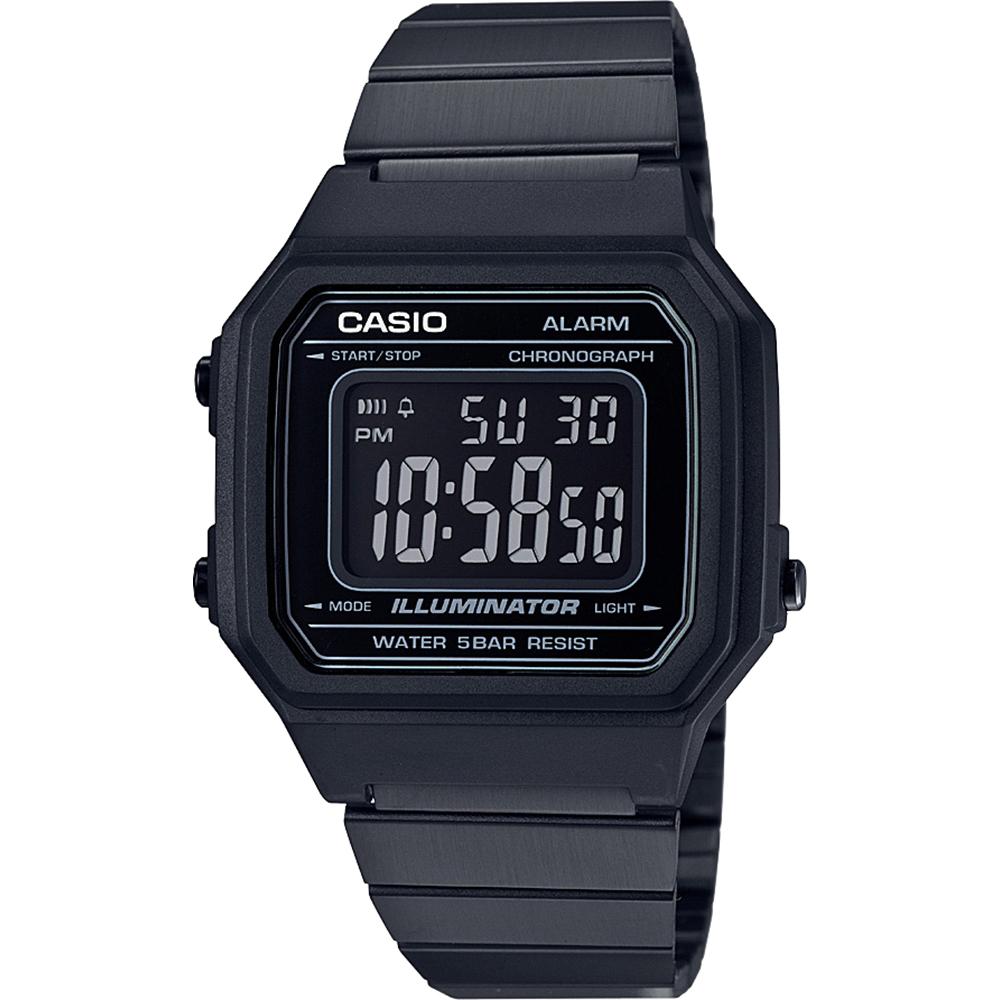 Casio Collectie B650WB 1BEF Vintage Edgy horloge • EAN