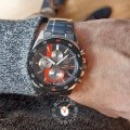 Limited Edition carbon heren chronograaf Herfst / Winter Collectie Casio Edifice