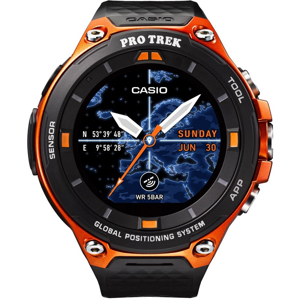 Casio WSD-F20-RG horloge