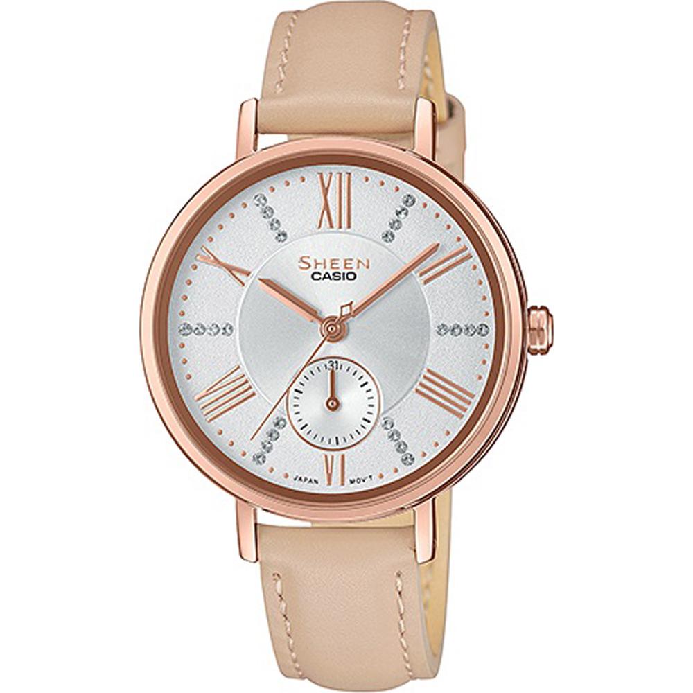 03bc705aee7e Casio SHE-3066PGL-7BUEF SHEEN Classic horloge • EAN  4549526213670 ...