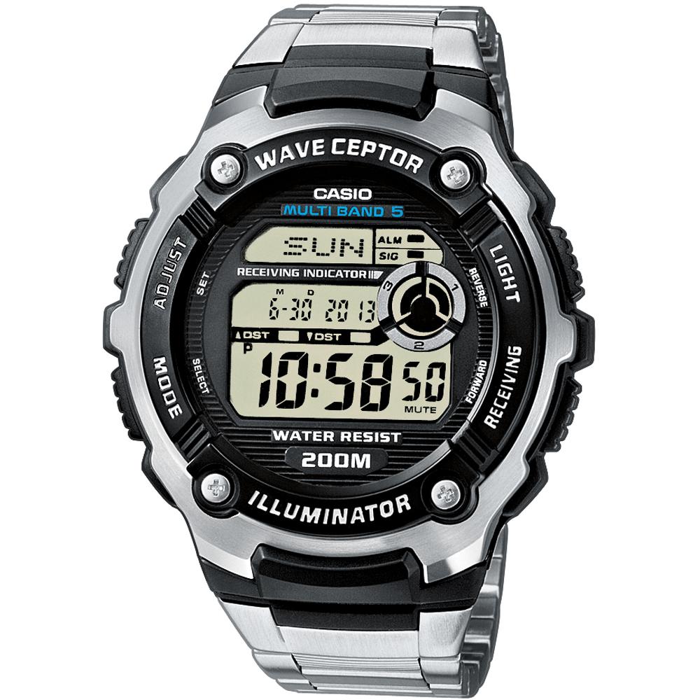 Casio Collectie WV 58E 1AVEF Waveceptor horloge • EAN