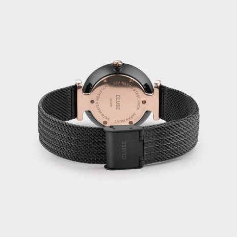 Quartz dameshorloge met Milanese band Herfst / Winter Collectie Cluse