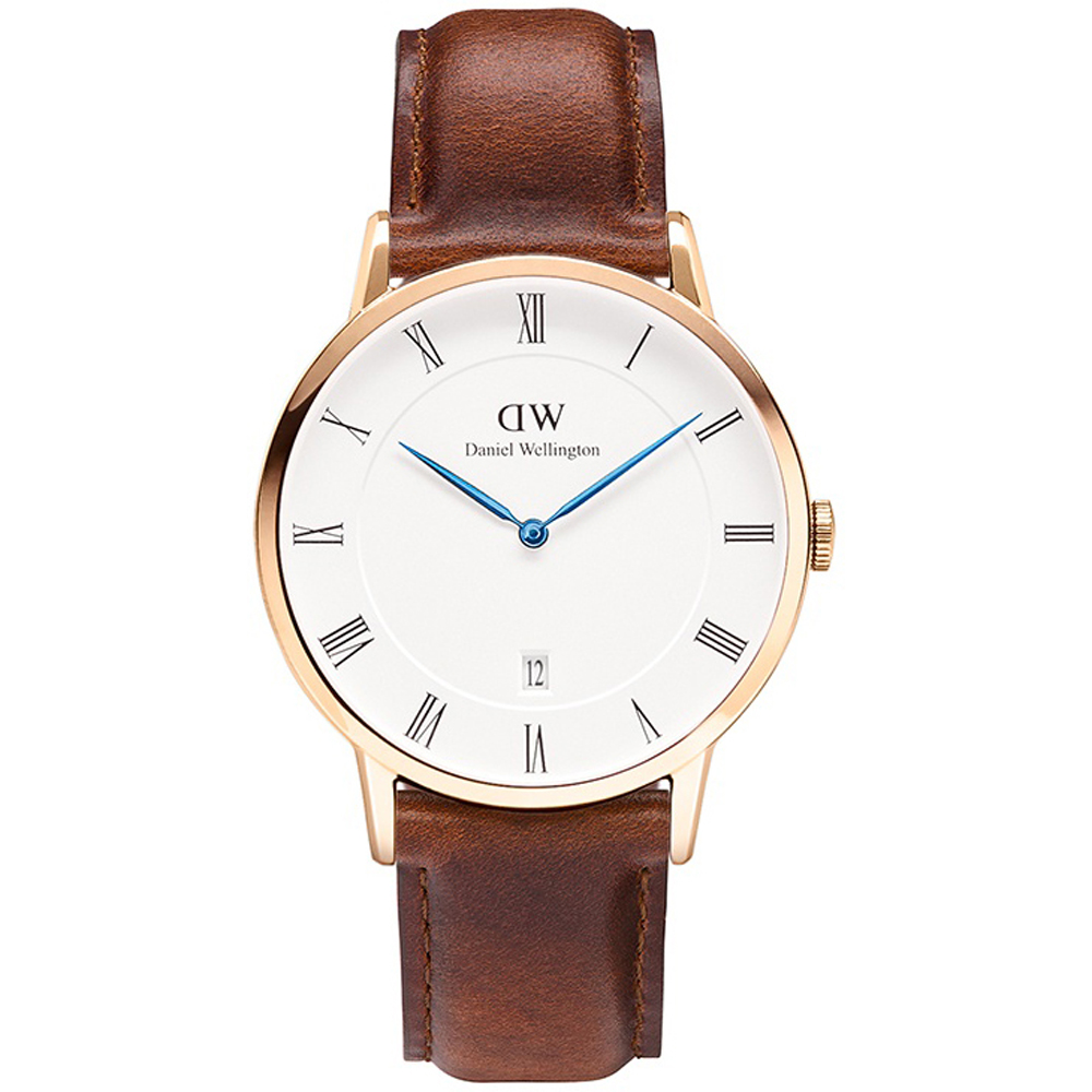 daniel wellington dw00100083 heren horloge dapper st mawes. Black Bedroom Furniture Sets. Home Design Ideas