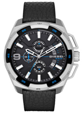 DZ4392 Heavyweight 50mm XXL stalen chronograaf met datum