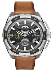 DZ4393 Heavyweight 50mm XXL stalen chronograaf met datum