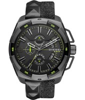 DZ4420 Heavyweight 50mm XXL stalen chronograaf met datum