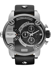 DZ7256 Little Daddy 51mm XL Zwarte Dual Time Chrono