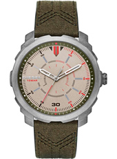 DZ1735 Machinus Time 46mm Stoer quartz herenhorloge