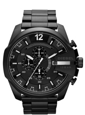 DZ4283 Mega Chief 52mm Zwarte XL Chrono met Datum