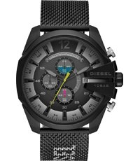 Mega Chief 51mm Zwarte Xl Chrono Met Mesh Band