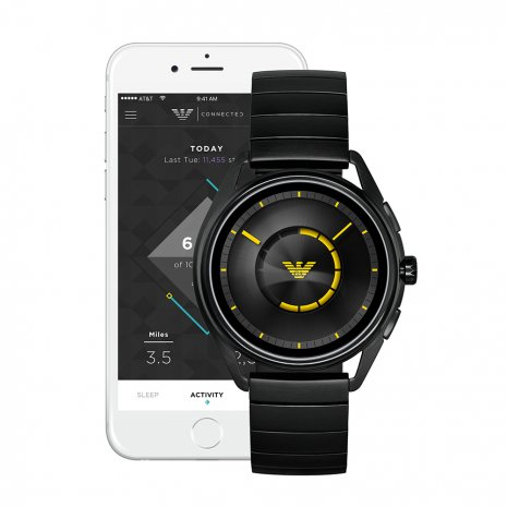 horloge zwart Smart Digital