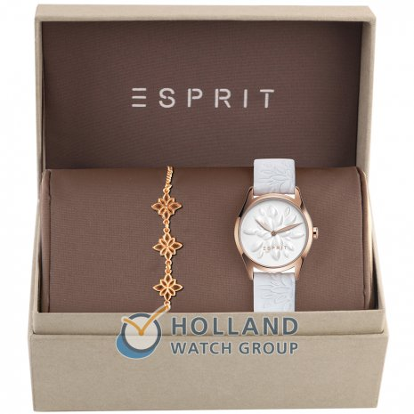 Esprit White Lilly horloge