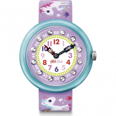 Flik Flak Sunny Hours - Magical Unicorns horloge