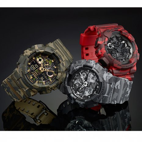 Camouflage ana-digi G-Shock Herfst / Winter Collectie G-Shock