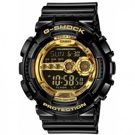 G-Shock Garish Black horloge
