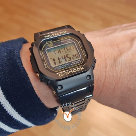 Titanium G-Shock met harde diamant-carbon coating Herfst / Winter Collectie G-Shock