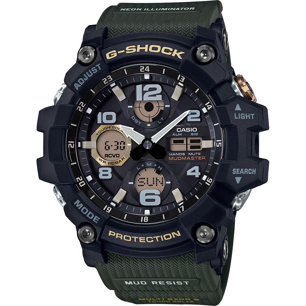 G Shock Master of G GWG 100 1A3ER Mudmaster horloge </div>                                   </div>         </div>       </div>                                        <div style=