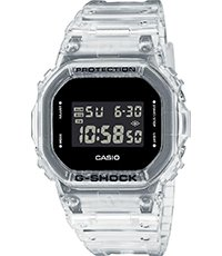 DW-5600SKE-7ER  Skeleton Series - White 42.8mm