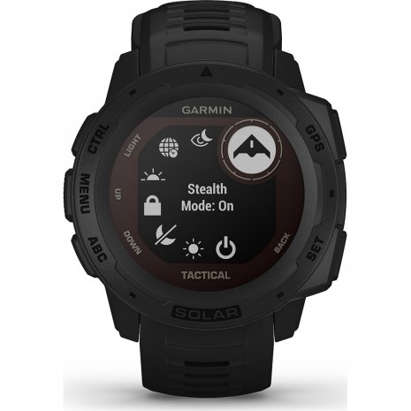 Solar GPS outdoor smartwatch with militaire functies Lente/Zomer collectie Garmin