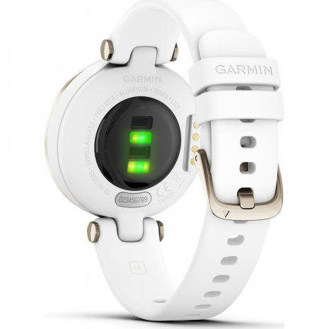 Roomwit-goud dames multisport smartwatch Lente/Zomer collectie Garmin