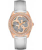 W0627L9  40mm Elegant rosé quartz dameshorloge