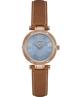 W0838L2 Park Avenue South 30mm Rosé en blauw dameshorloge