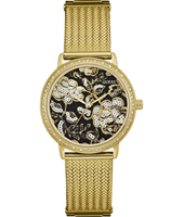 W0822L2 Willow 36mm Trendy goudkleurig dames quartzhorloge