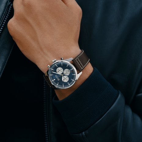 Chronograaf met datum Herfst / Winter Collectie BOSS