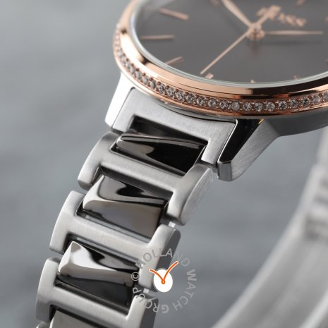 Bicolor rosé quartz dameshorloge Herfst / Winter Collectie Hugo Boss