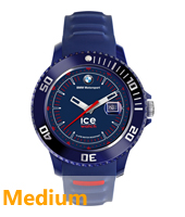 BM.SI.BRD.U.S.14 BMW Motorsport 43mm Donkerblauw horloge maat Medium