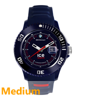 BM.SI.DBE.U.S.13 BMW Motorsport 43mm Donkerblauw horloge maat Medium