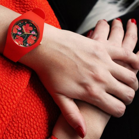 Rood horloge, maat Small Lente/Zomer collectie Ice-Watch